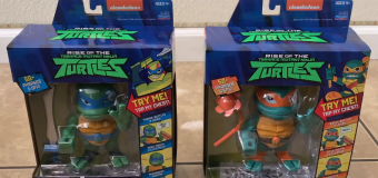 "Playmates Toys ""Rise of the Teenage Mutant Ninja Turtles"" Babble Heads Review"