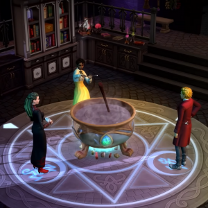 Sims Realm of Magic, Courtesy of EA Games