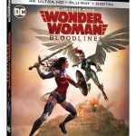 wonder woman bloodlines blu-ray