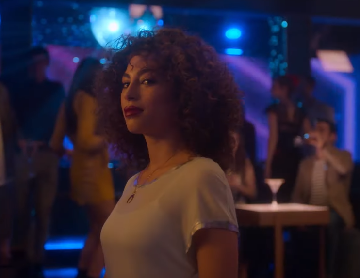Nadia in Elite Season 2 trailer