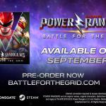 power rangers battle for the grid PC September release