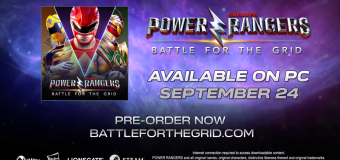 """Power Rangers: Battle for the Grid"" Teleports to PC This September!"