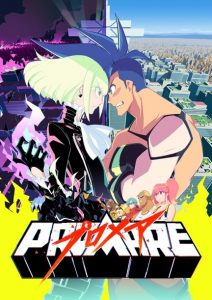 Promare poster Queer Anime