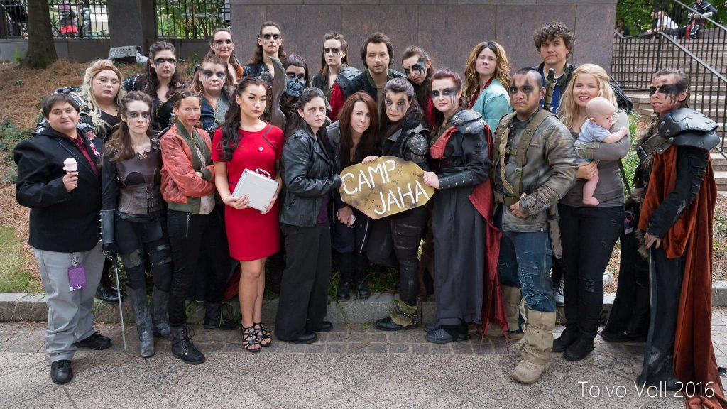 the 100 at dragon con 2019