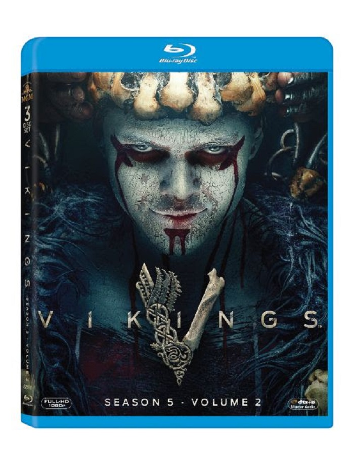 Vikings season 5 volume 2 Blu-ray dvd