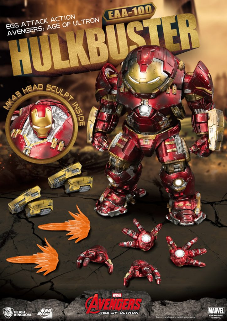 Hulkbuster PREVIEWS Exclusive