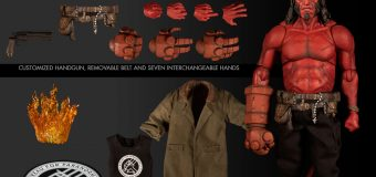 All-New Range of PREVIEWS Exclusive Hellboy & Superman Figures!