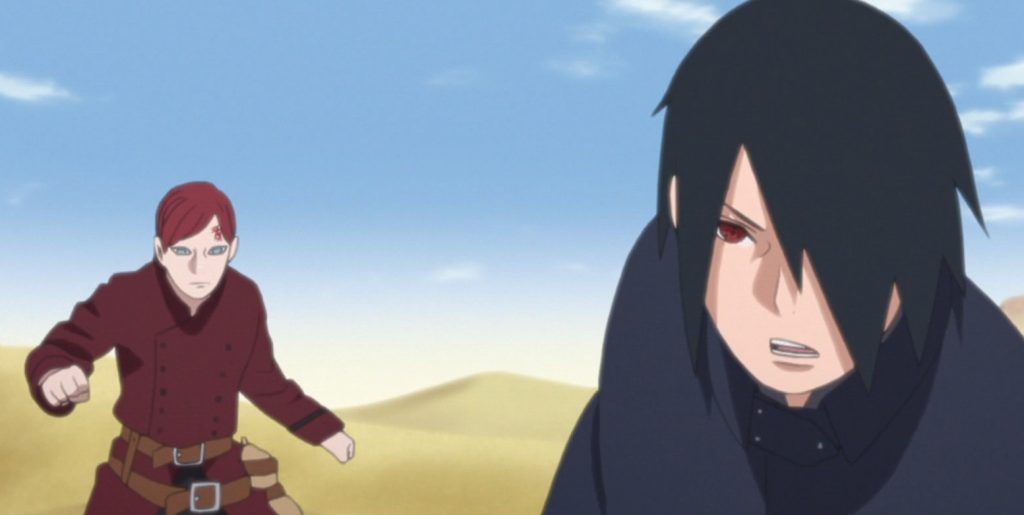 with sasuke as the goal boruto anime 120 review