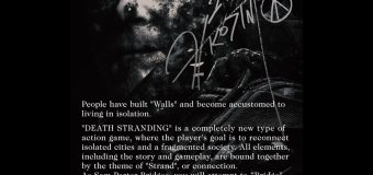Death Stranding Plot Details Announced