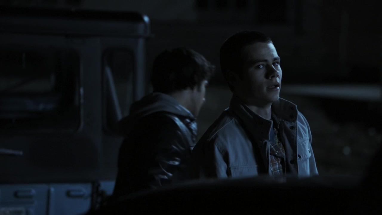 Stiles calling Derek a 'sourwolf' in episode 1x06