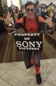Dragon con cosplay 2019 Spiderman