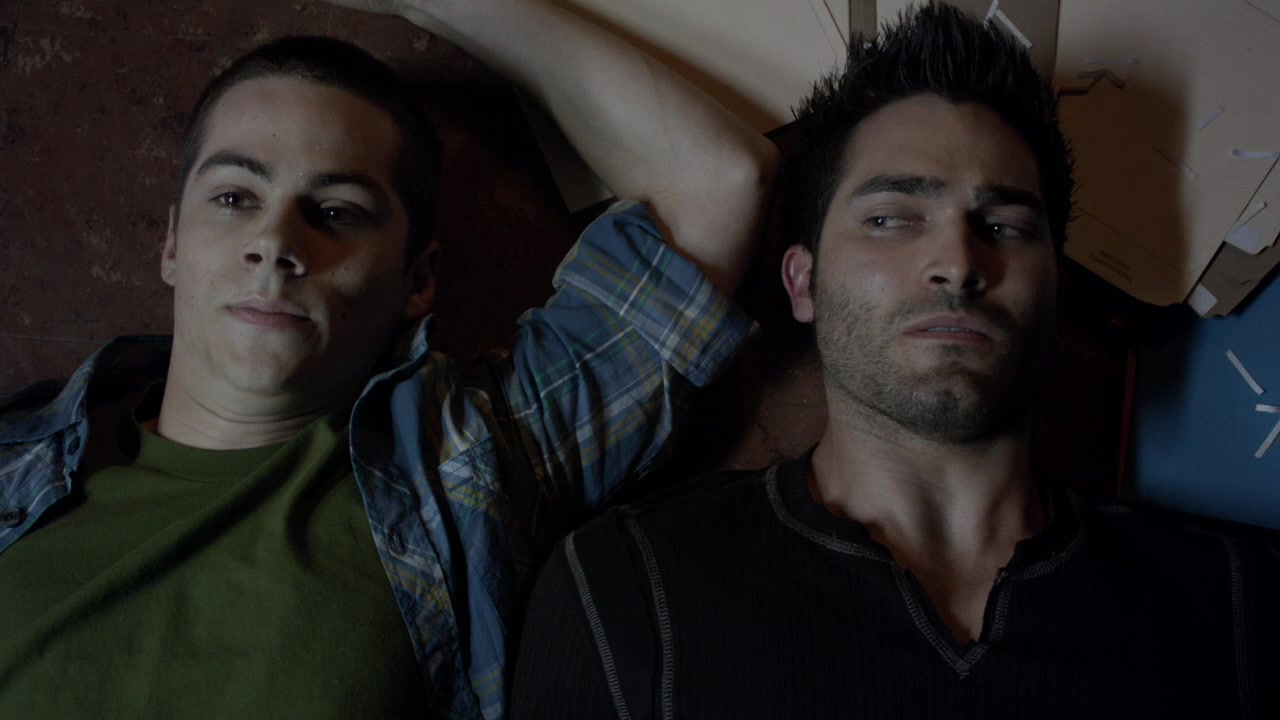 Sterek in episode 2x10