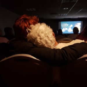 Good Omens Panel Viewing