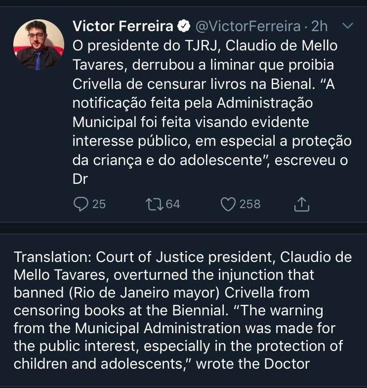 Marvel Brazil Ban