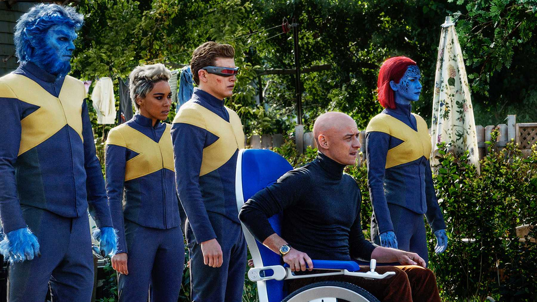 X-Men characters in Dark Phoenix