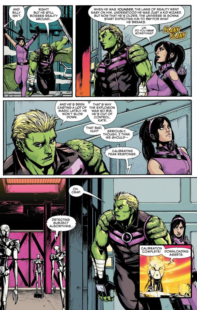 Death's Head Issue 3 Hulkling Kate