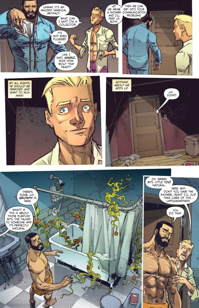 Bisexual comic book characters John Constatine