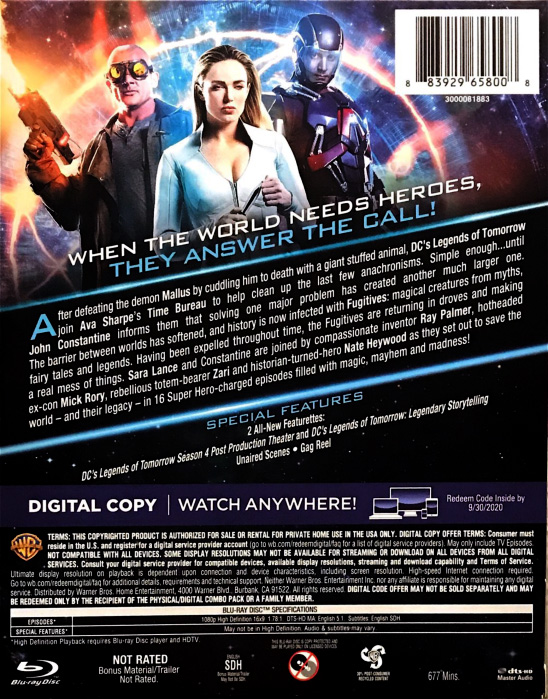 LoT back cover Blu-Ray