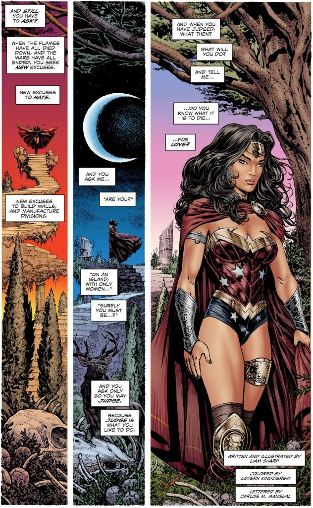 Wonder Woman Diana Prince bisexual