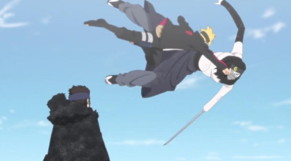 Urashiki Returns Boruto anime 123 review
