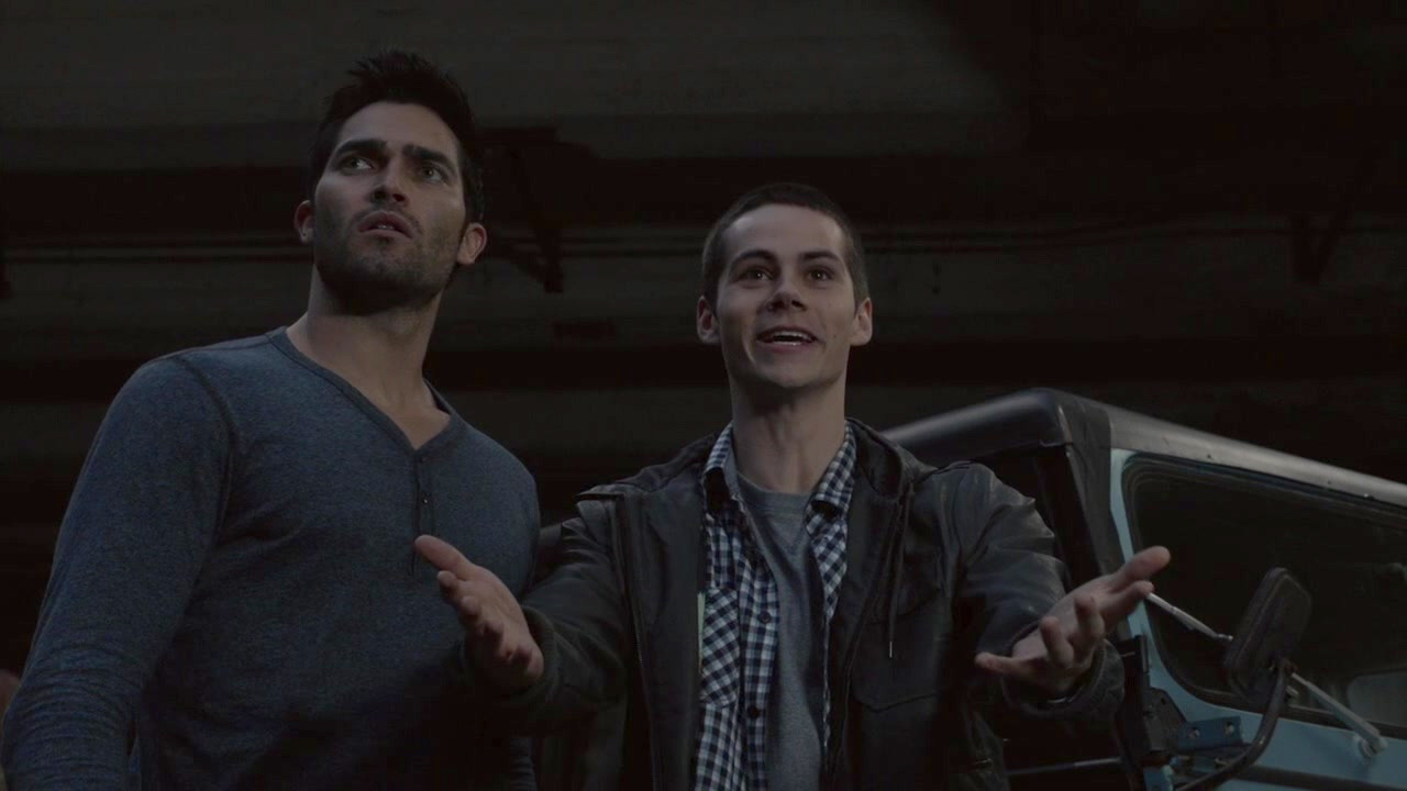 Sterek in Teen Wolf