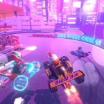 Touring Karts indie game VR