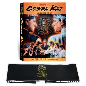 Cobra Kai Season 1 and 2 DVD
