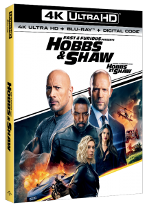 Hobbs & Shaw Blu-ray DVD release