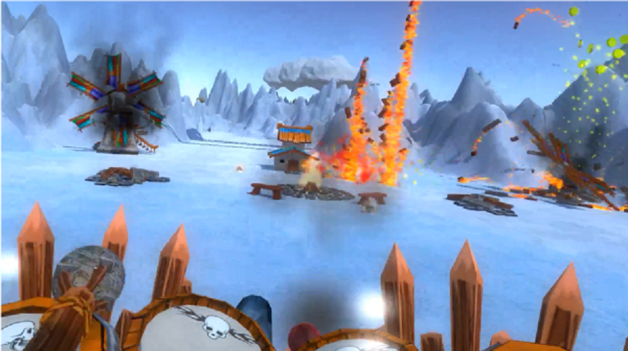 Drums of War game SteamVR Oculus Rift