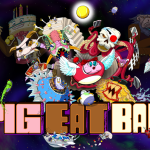 Pig Eat Ball game