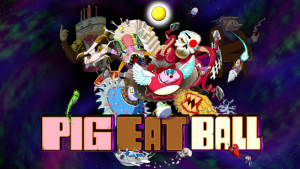 Pig Eat Ball game