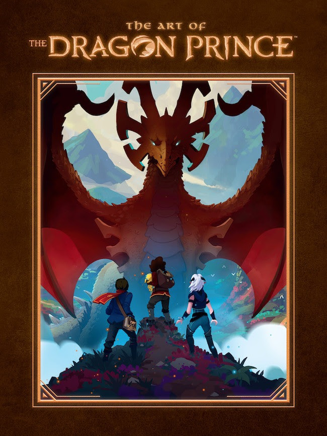 The Art of The Dragon Prince cover