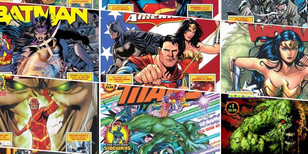 Walmart DC exclusive comics