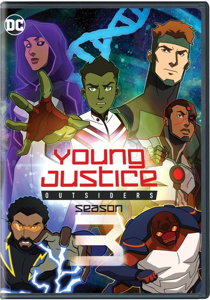 Young Justice Outsiders Season 3 Blu-ray DVD