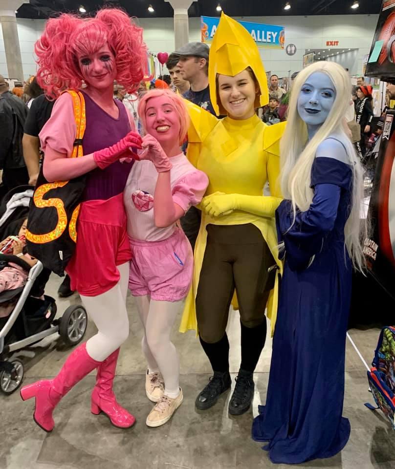 los angeles comic con cosplay