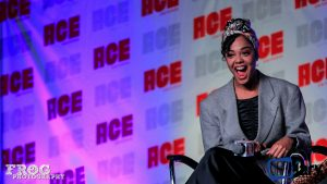 Tessa Thompson at Ace Comic Con