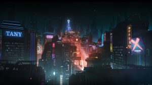 Altered Carbon anime