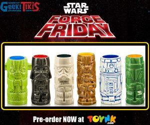Star Wars Geeki Tikis Toynk Toys