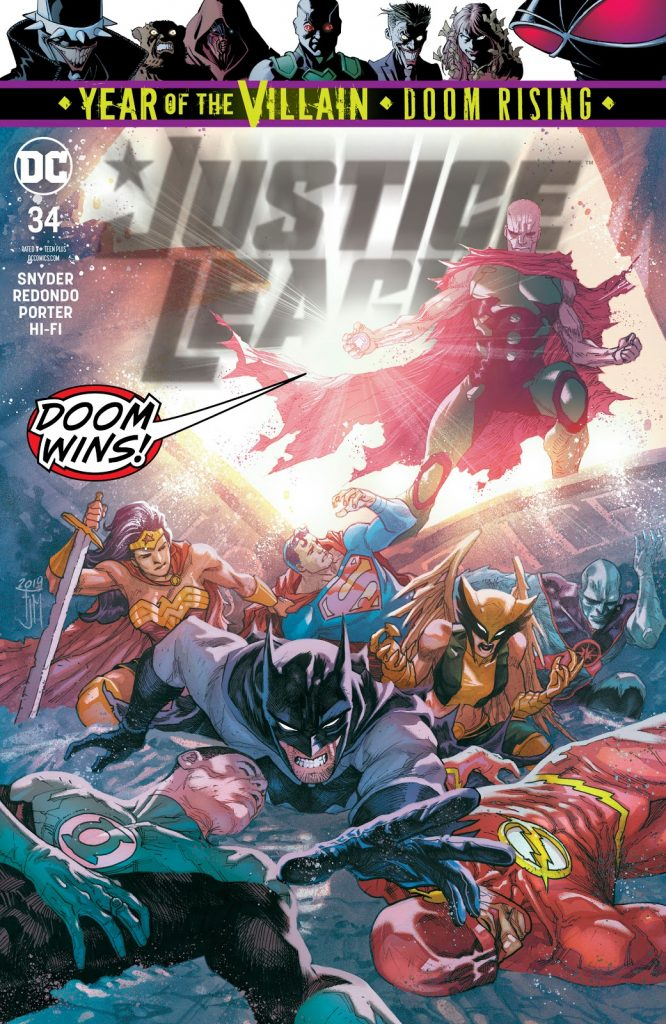 Justice League Issue 34