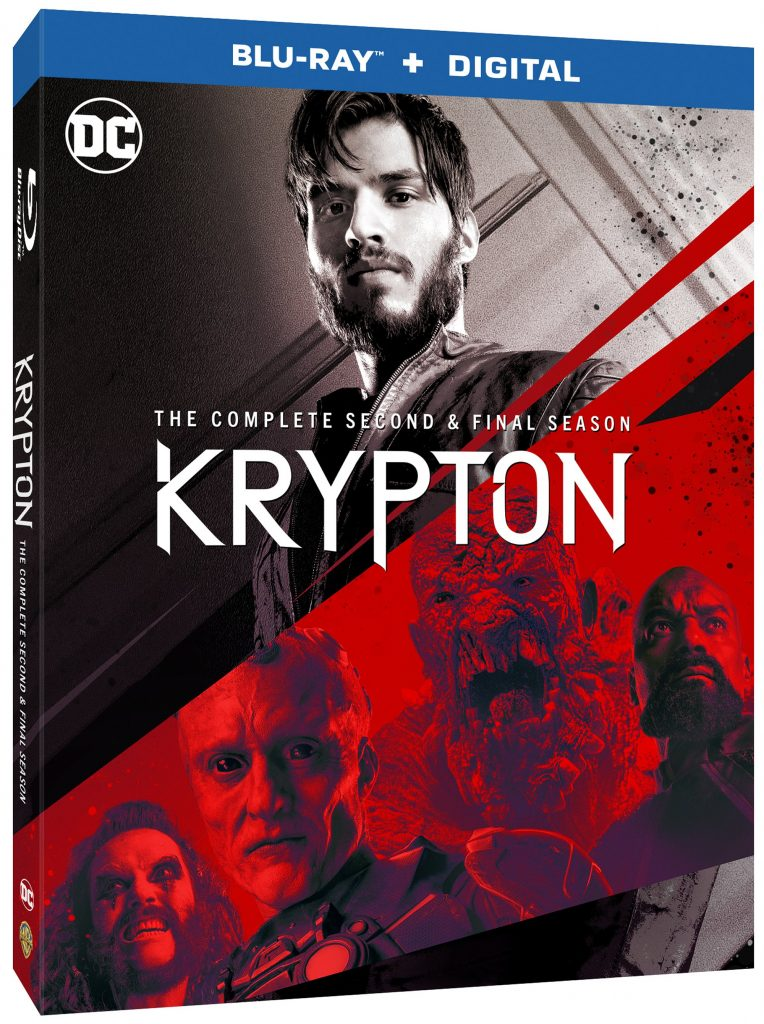 Dvd New Releases 2020.Krypton Season 2 Blu Ray Dvd On January 14 2020