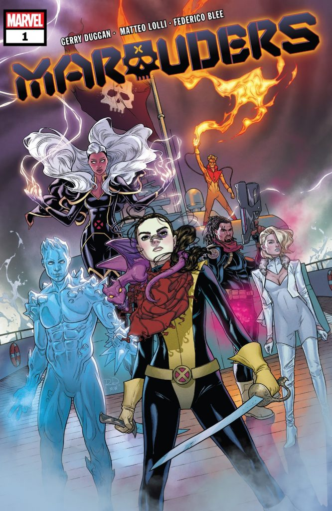 Marauders Issue 1 review