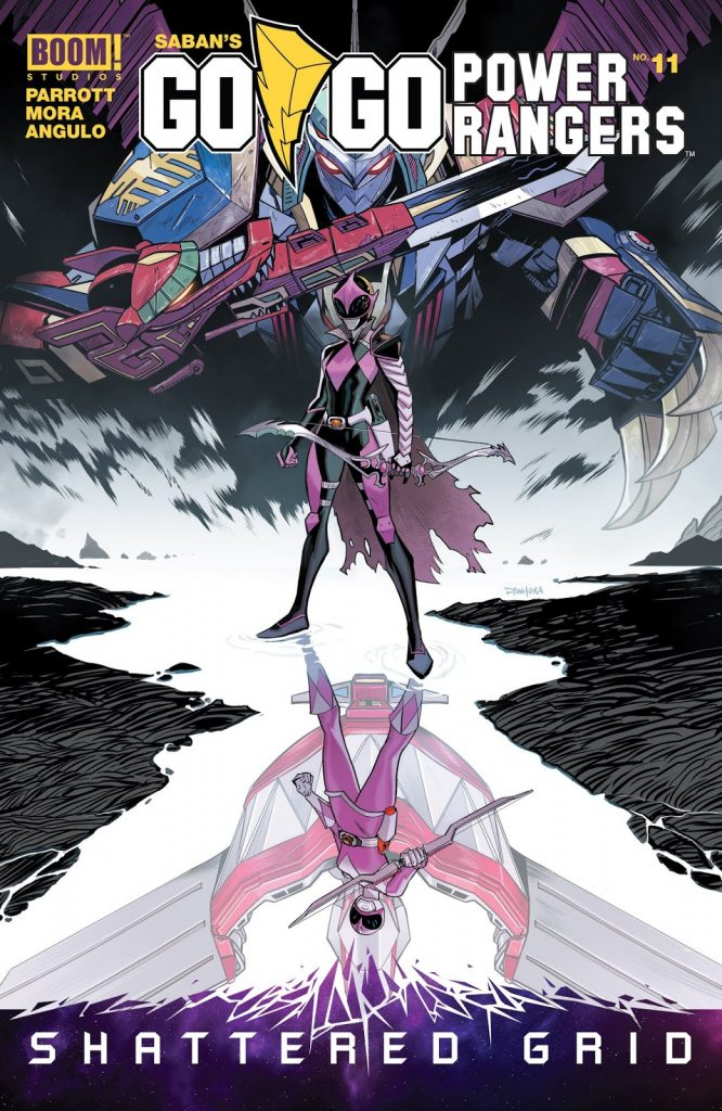 Shattered Grid Pink Ranger Slayer Battle for the Grid