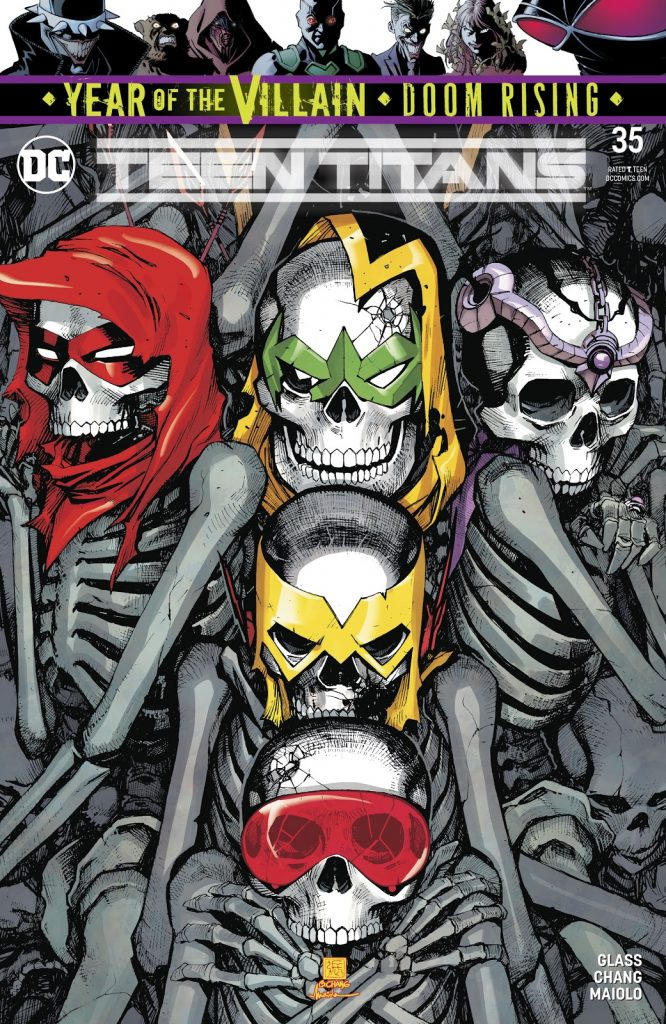 Teen Titans 35 review
