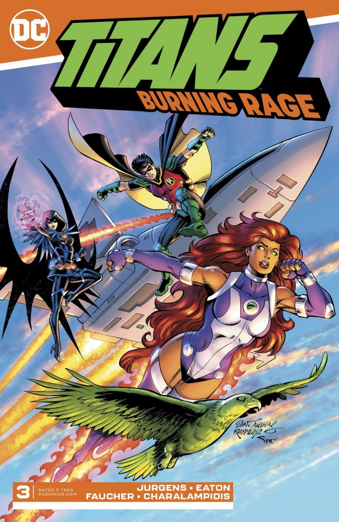 Titans Burning Rage Issue 3 review