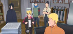 Target Urashiki Boruto anime 128 review
