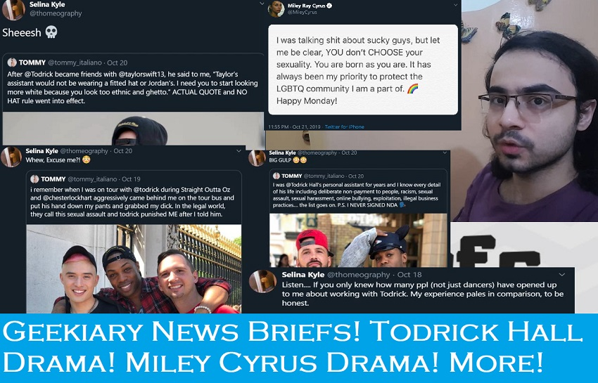 Miley Cyrus sexuality drama geekiary news briefs