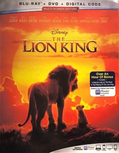 Lion King BLU-RAY edition