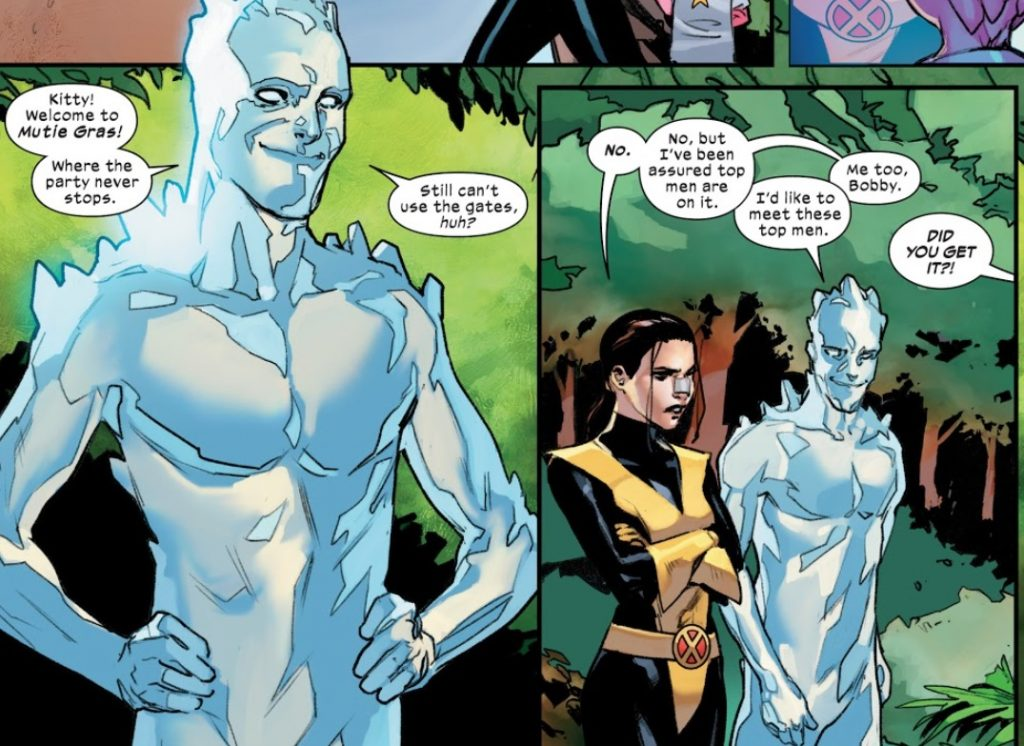 Marauders Issue 1 review iceman bottom top