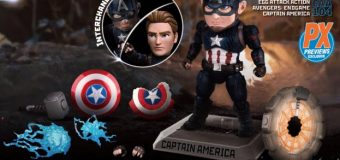 New PREVIEWS Exclusive Captain America and Thor Figures Up for Pre-Order!