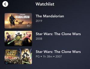 Disney+ Needs A Better Watchlist System
